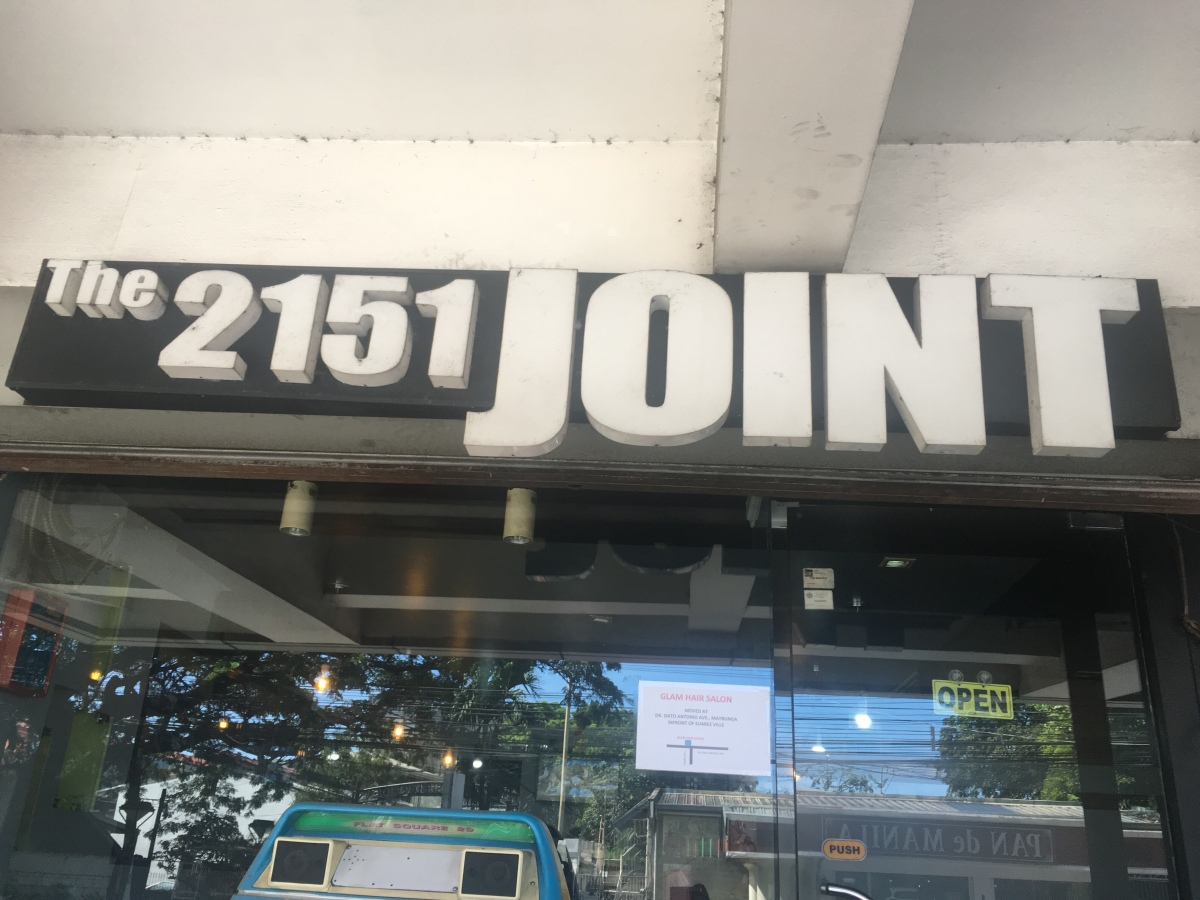 Affordable dining at The 2151 Joint, Pasig