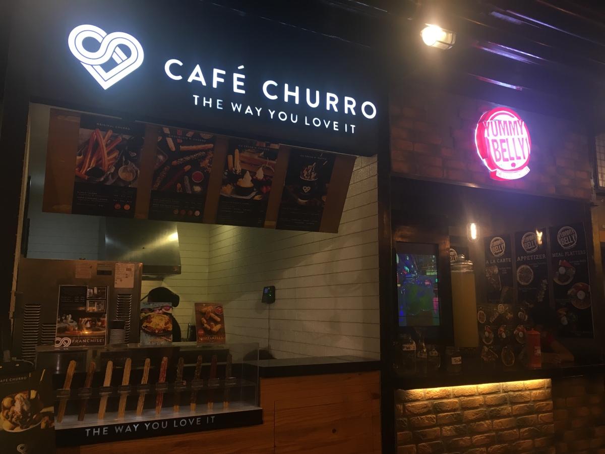 Cafe Churro, dessert option at SavourManila