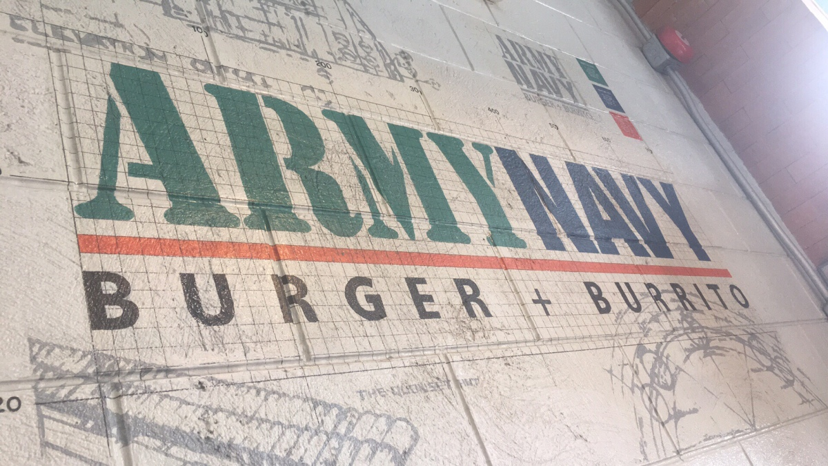 Burgers and Burritos at Army Navy, Tomas Morato