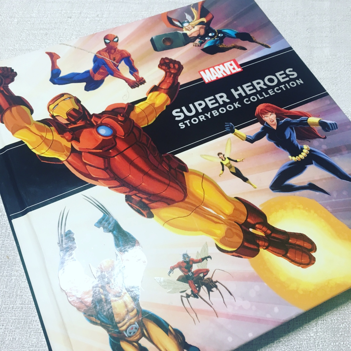 Origin stories in the Marvel Super Heroes Storybook Collection
