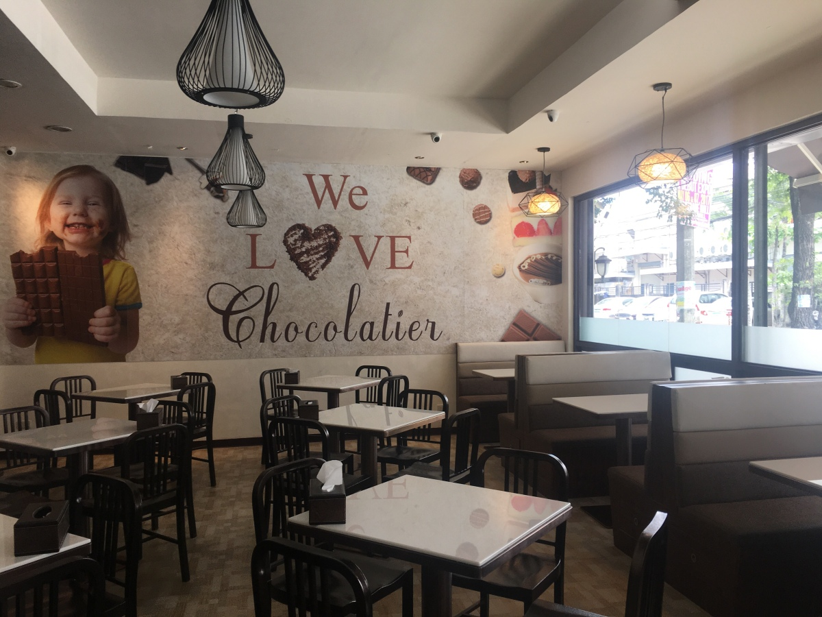 Chocoholic indulgence at Maitre Chocolatier, Tomas Morato