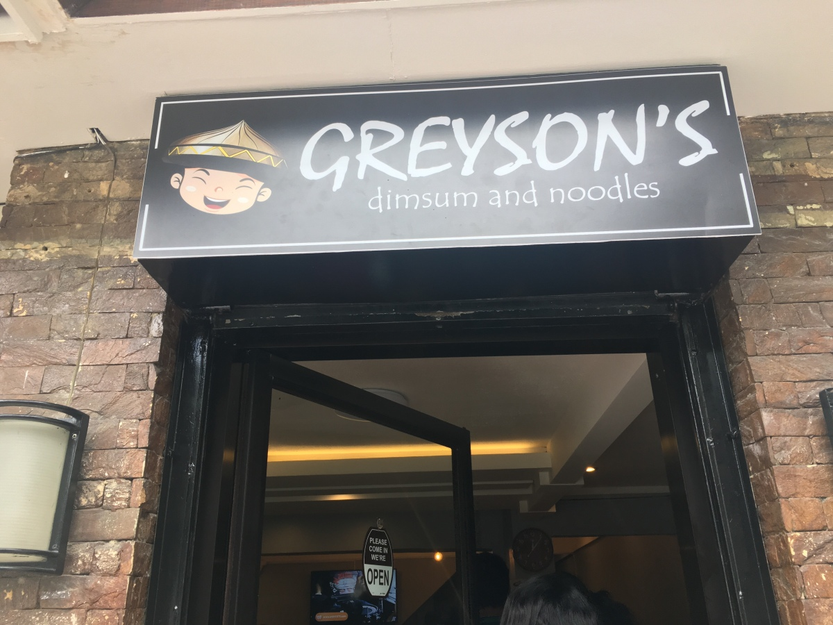 Affordable Chinese Food at Greyson's Dimsum and Noodle House, Mother Ignacia