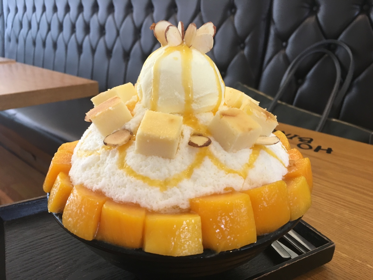 Beat the Summer Heat with Bingsu!