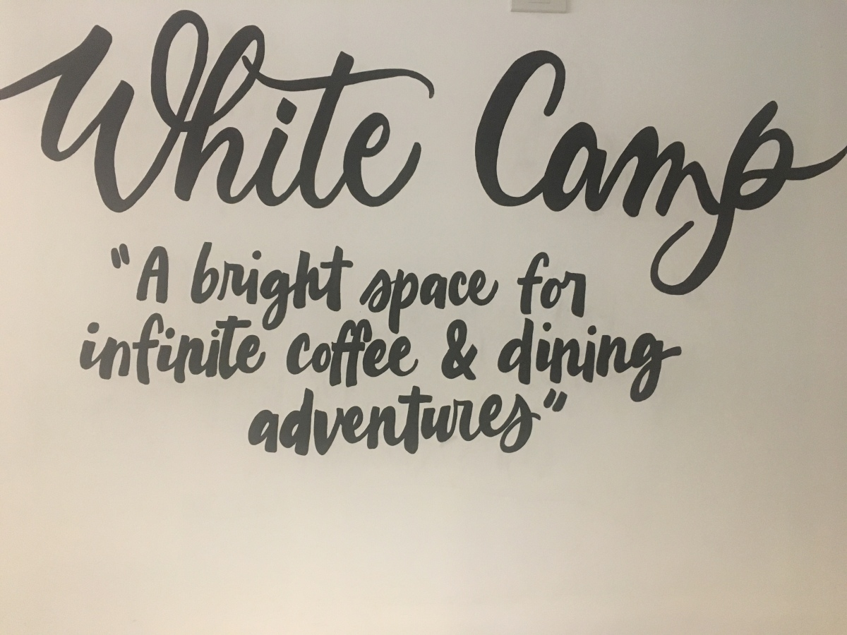 Laid-back lunch at White Camp, Tomas Morato