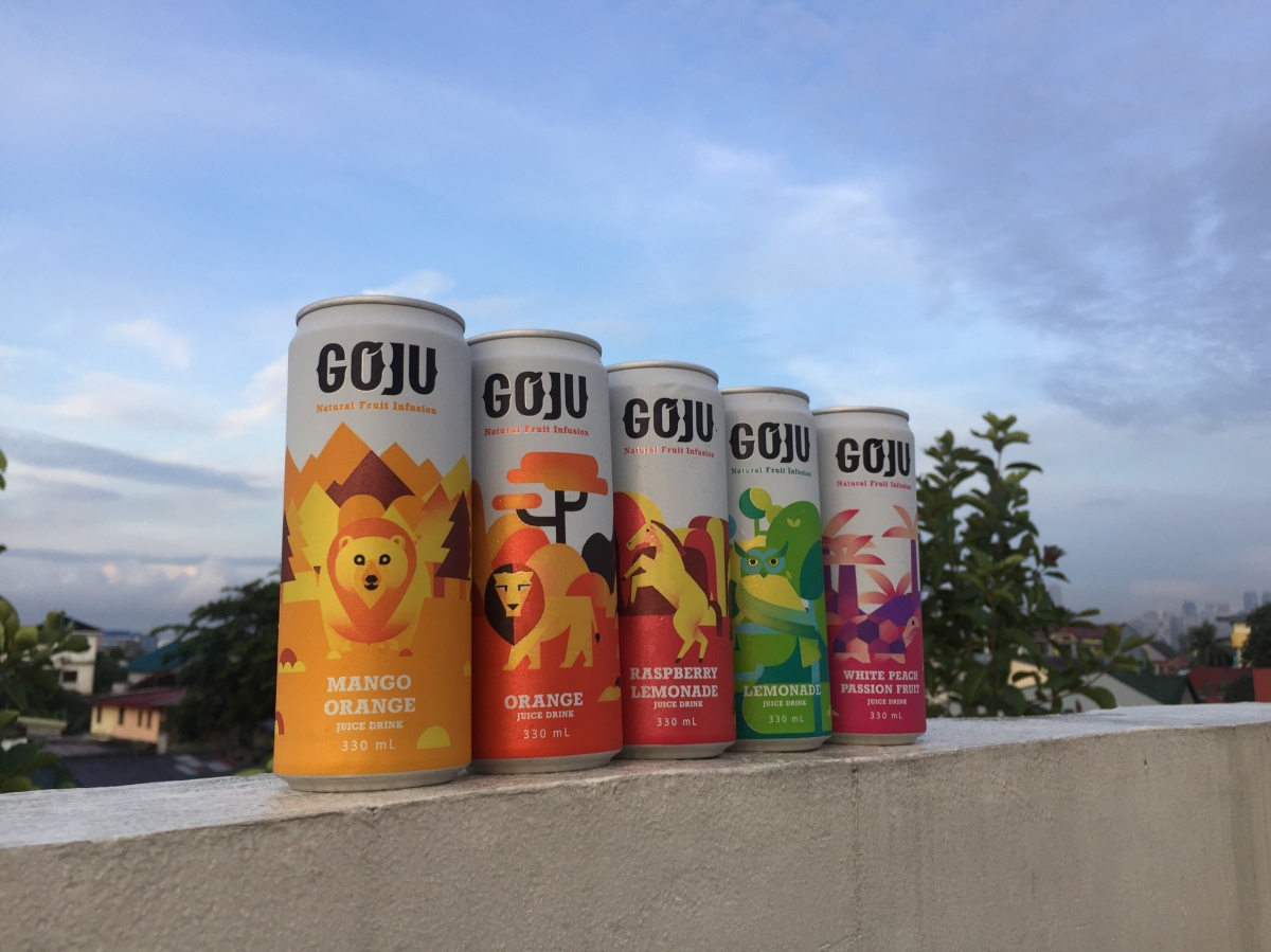 Now available: Goju Natural Fruit InfusionDrinks