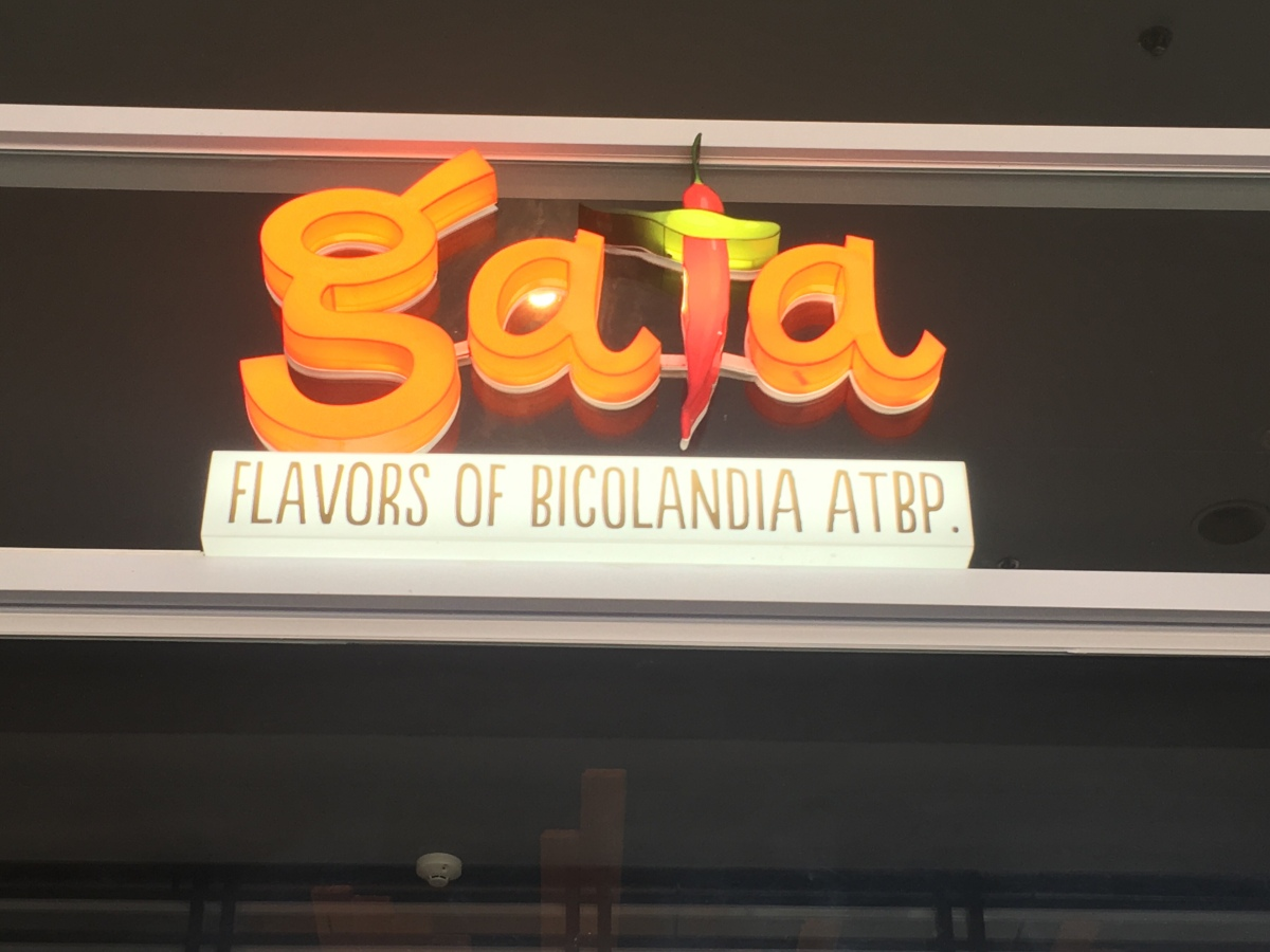 Got a taste of Bicolandia at Gata, Tomas Morato