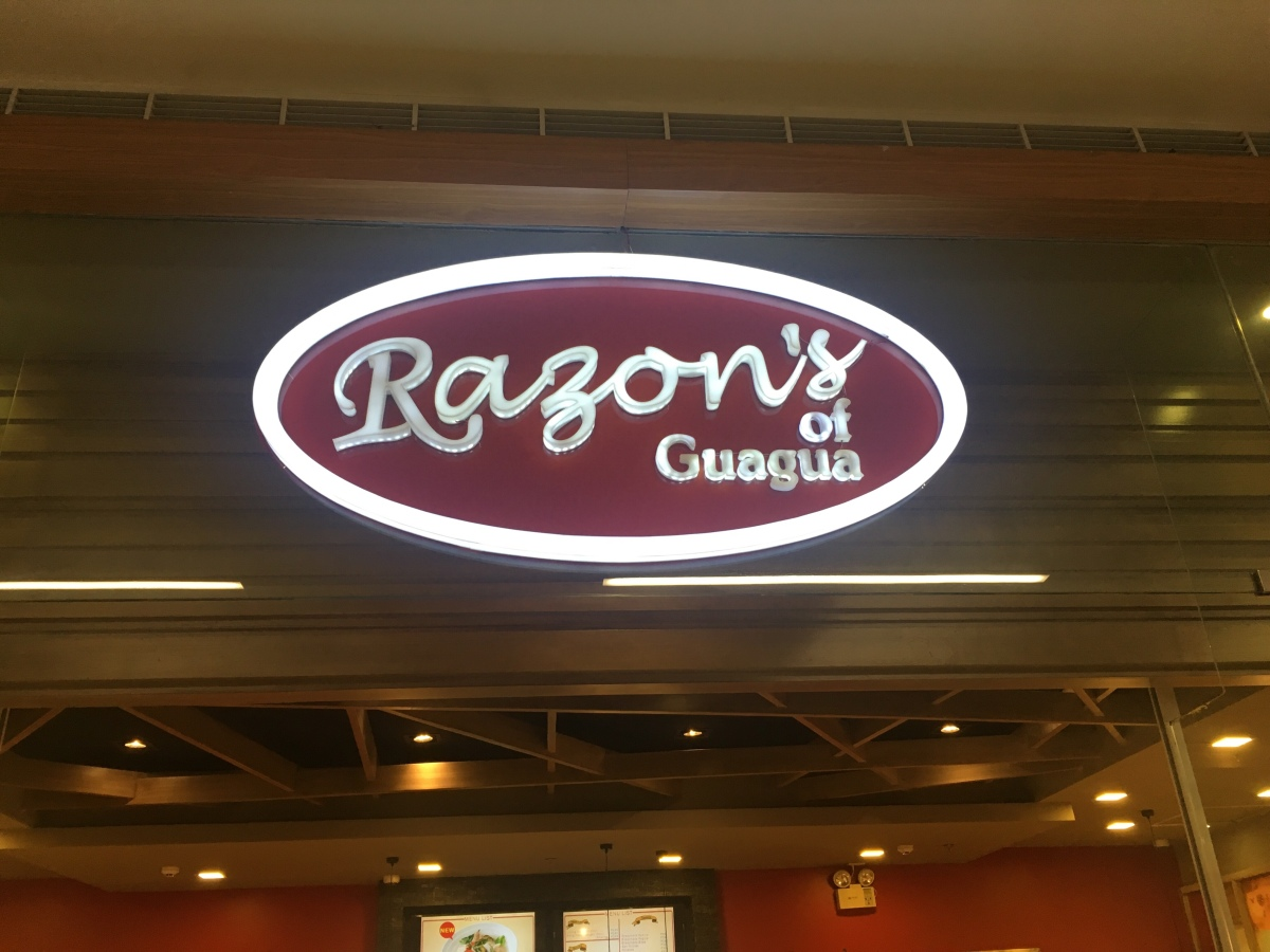A quick merienda at Razon's, SM East Ortigas