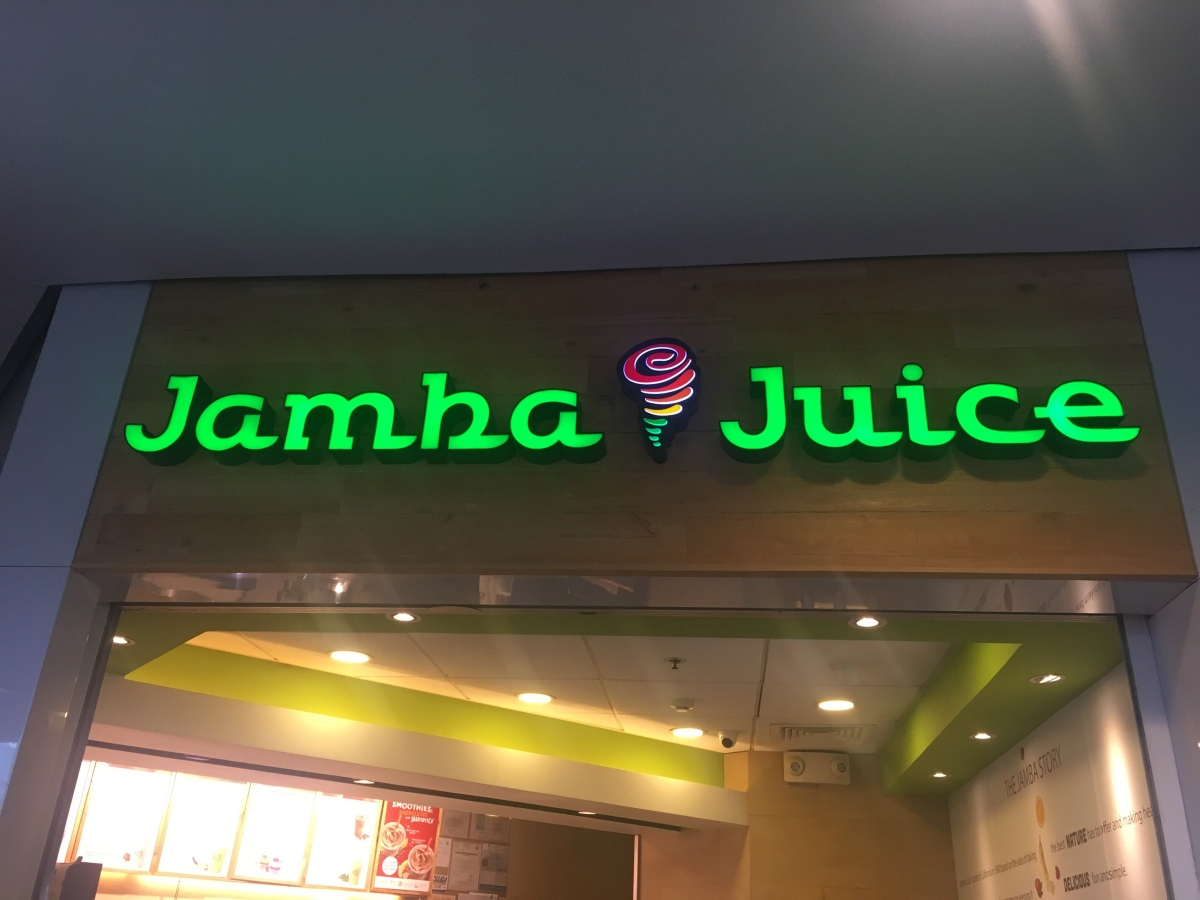 Energizing smoothies at Jamba Juice, Greenbelt