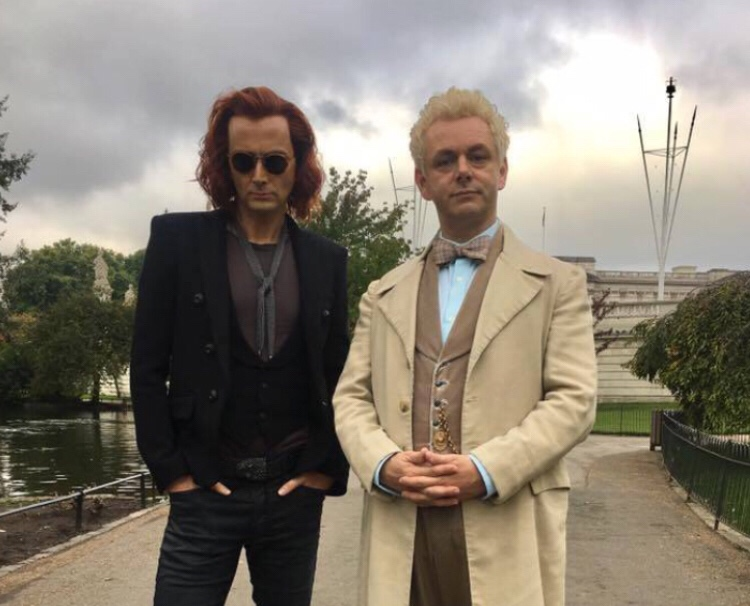 "TV adaptation of Neil Gaiman and Terry Pratchett's ""Good Omens"" to be released in 2019"