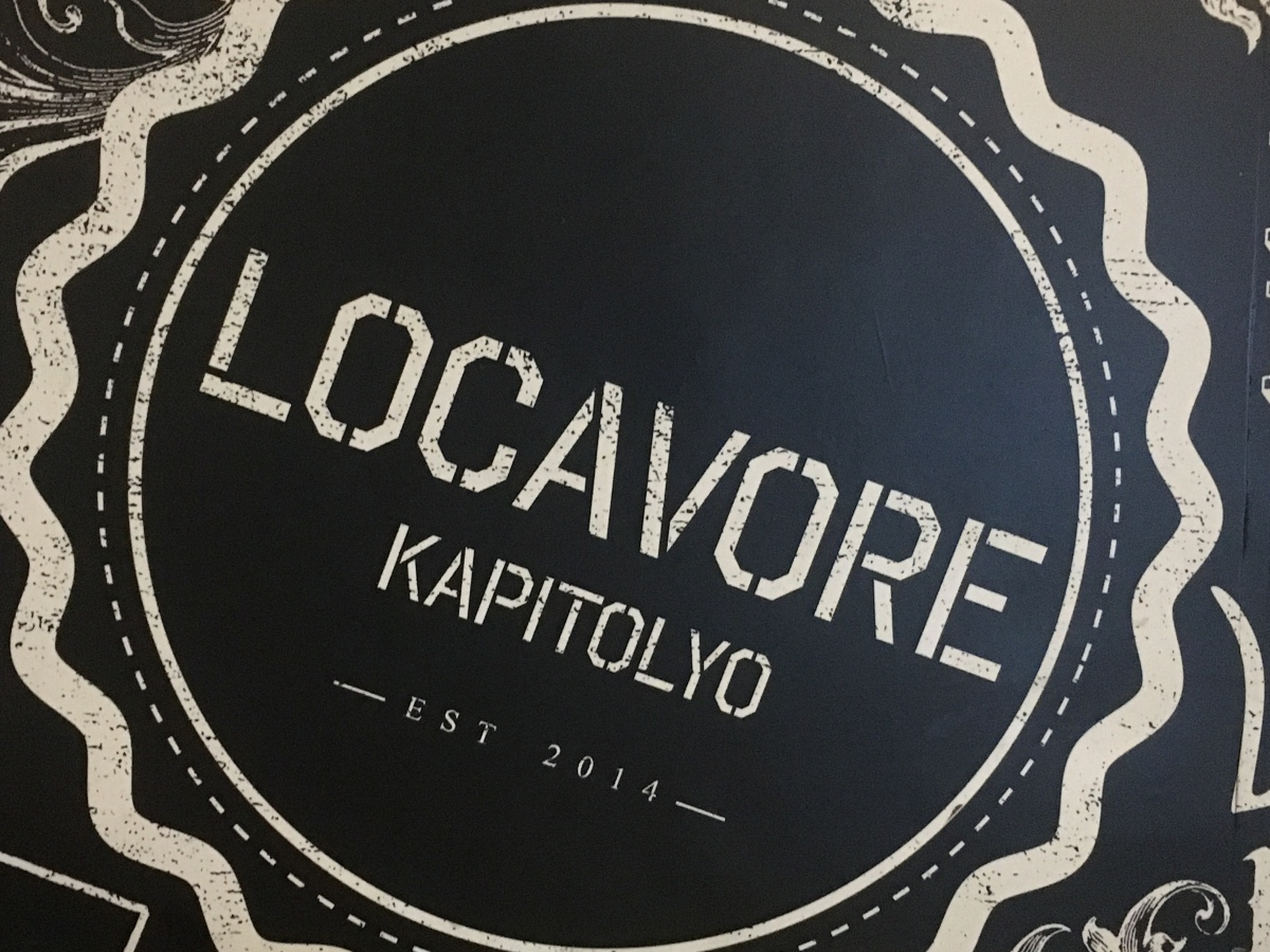Classic Filipino dishes with a twist at Locavore,Kapitolyo