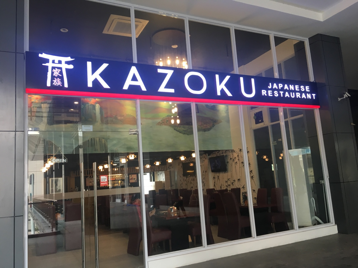 Filling Japanese bento meals at Kazoku, Tomas Morato