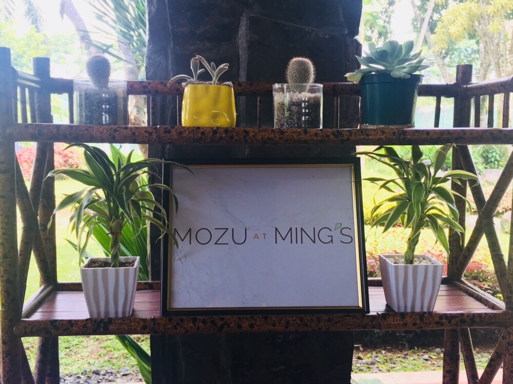 Zomato Tagaytay Food Crawl First Stop: Mozu at Ming's Garden
