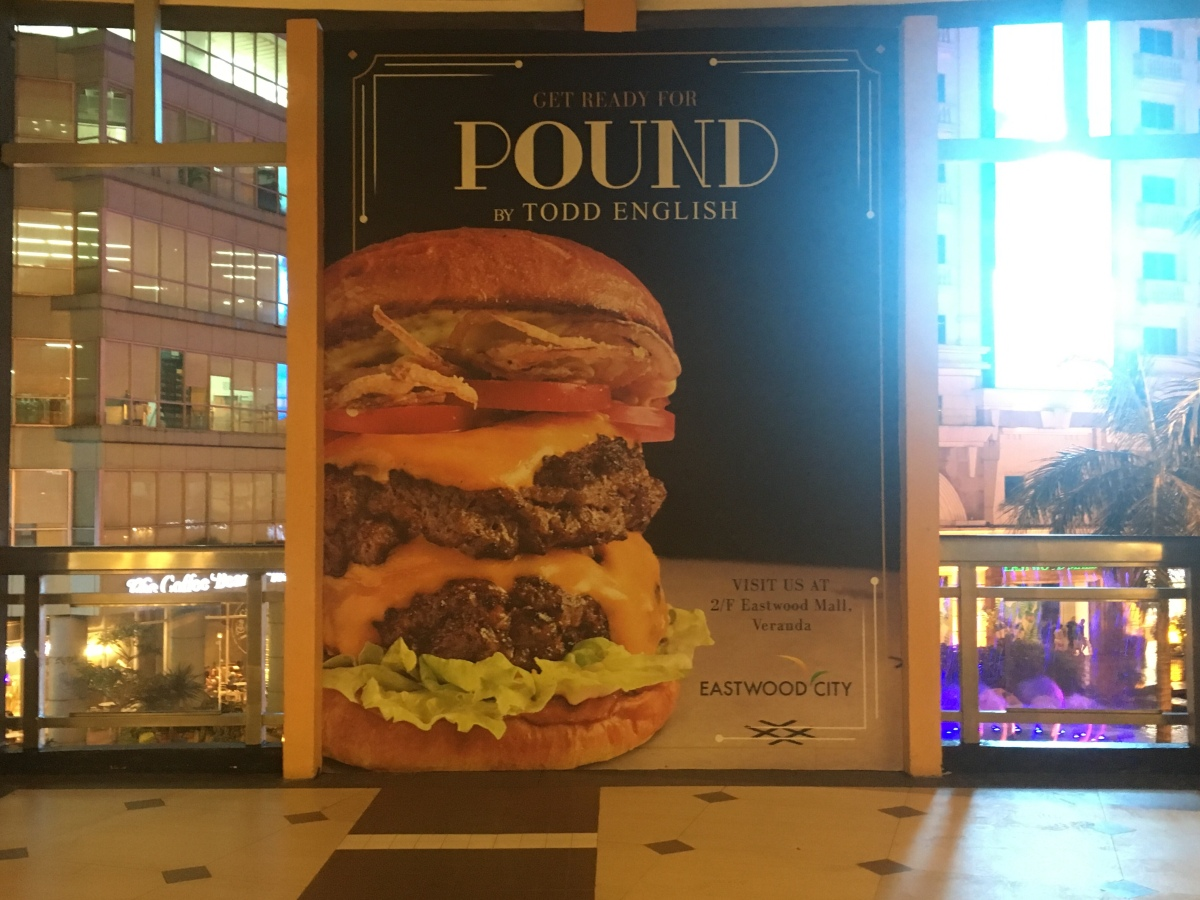 Stylish and tasty burgers at Pound by Todd English, Eastwood City