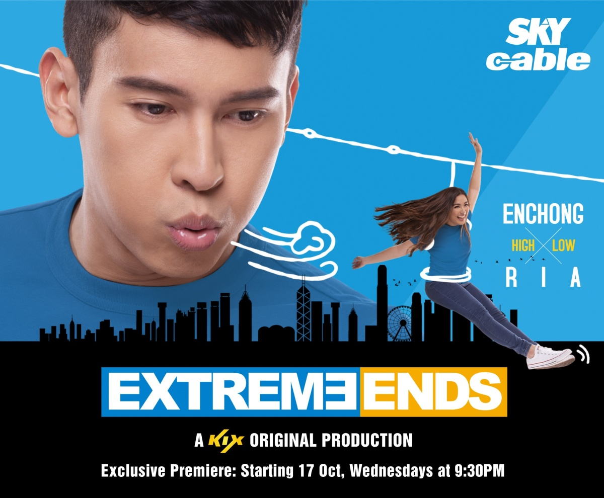 Enchong Dee goes to extremes in Hong Kong in KIX's new show Extreme Ends