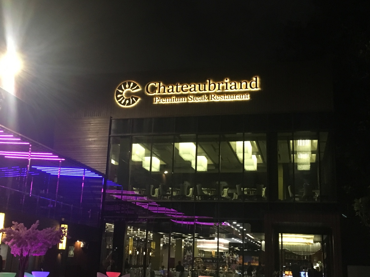 Novel churrasco dining experience at Chateaubriand, Roxas Boulevard