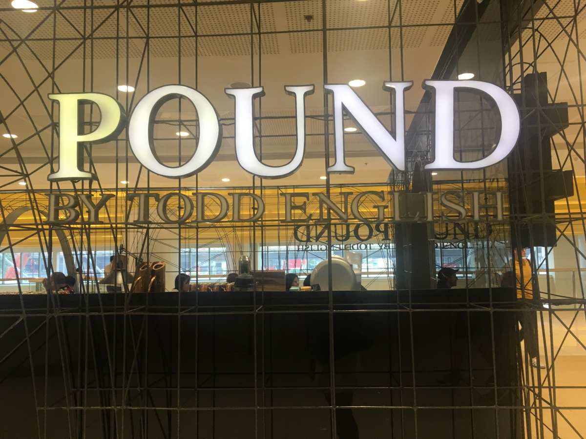 Upscale Burger and Fries at Pound by Todd English, SM Megamall