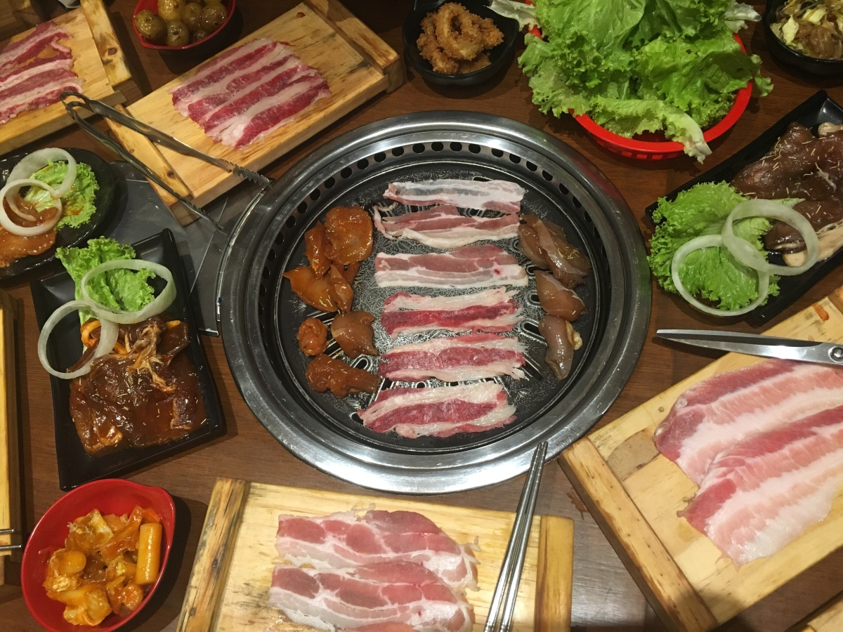 Unli Korean BBQ Buffet at Saram, Sikatuna Village