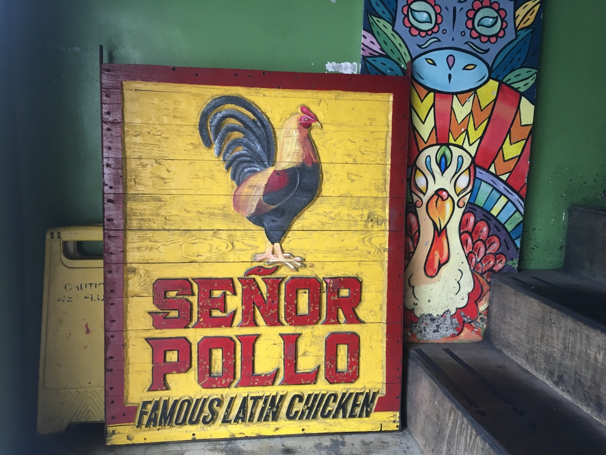 Latin-style Roast Chicken at Senor Pollo, Tomas Morato