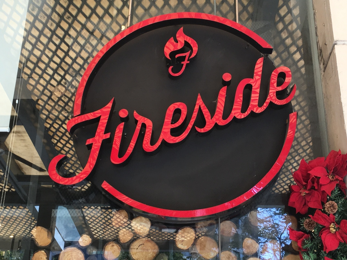Christmas Lunch with the Family at Fireside by Kettle,Rockwell