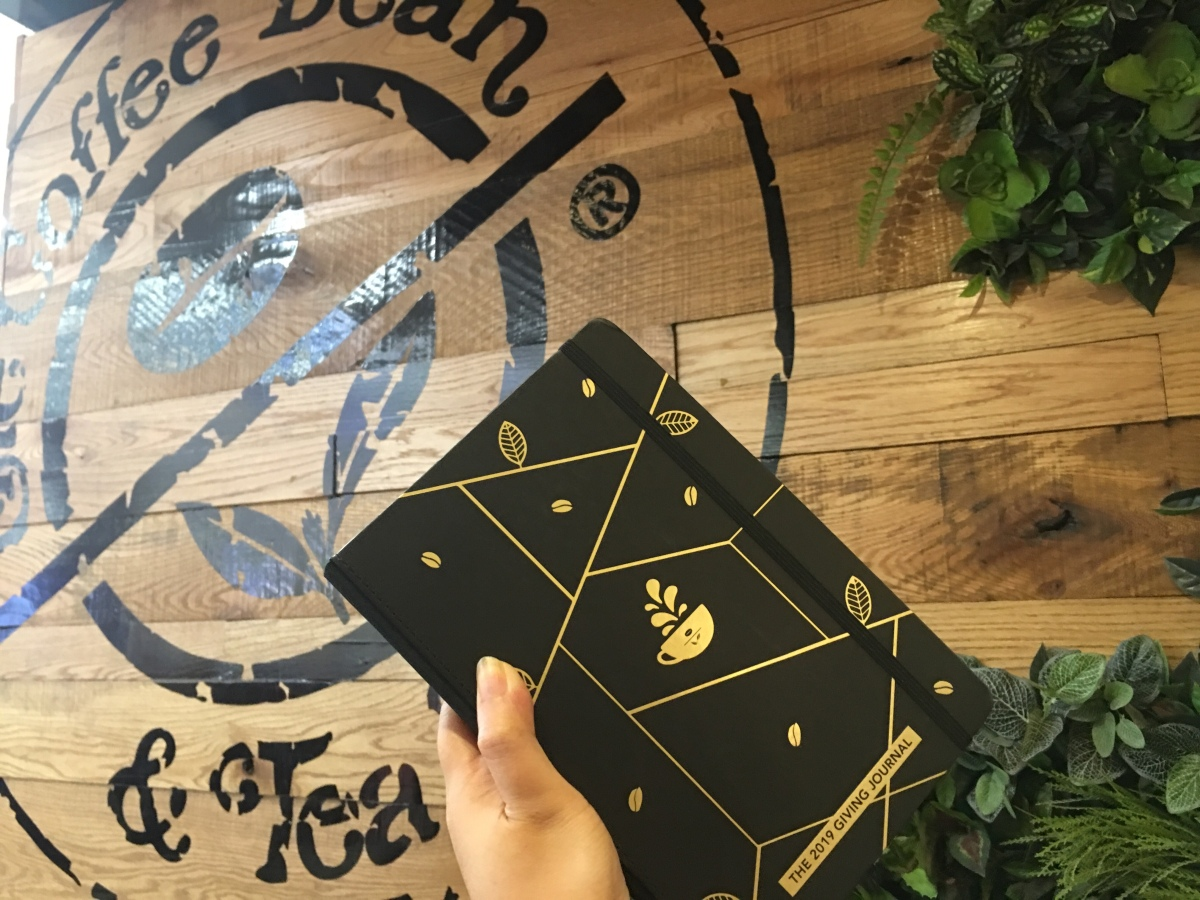 What you can do with Coffee Bean & Tea Leaf's 2019 Giving Journal
