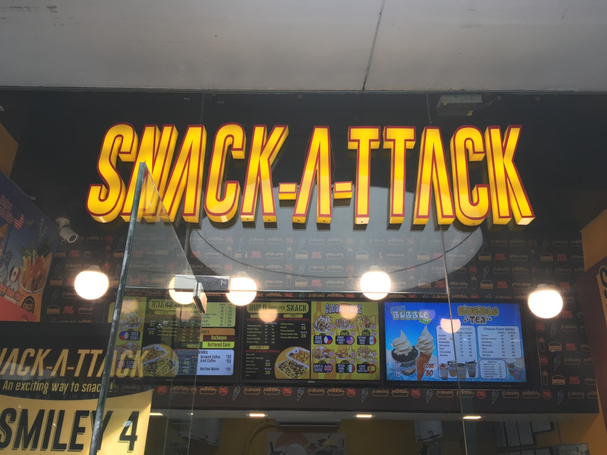 Snackin' with friends on the cheap at Snack Attack, SM North EDSA