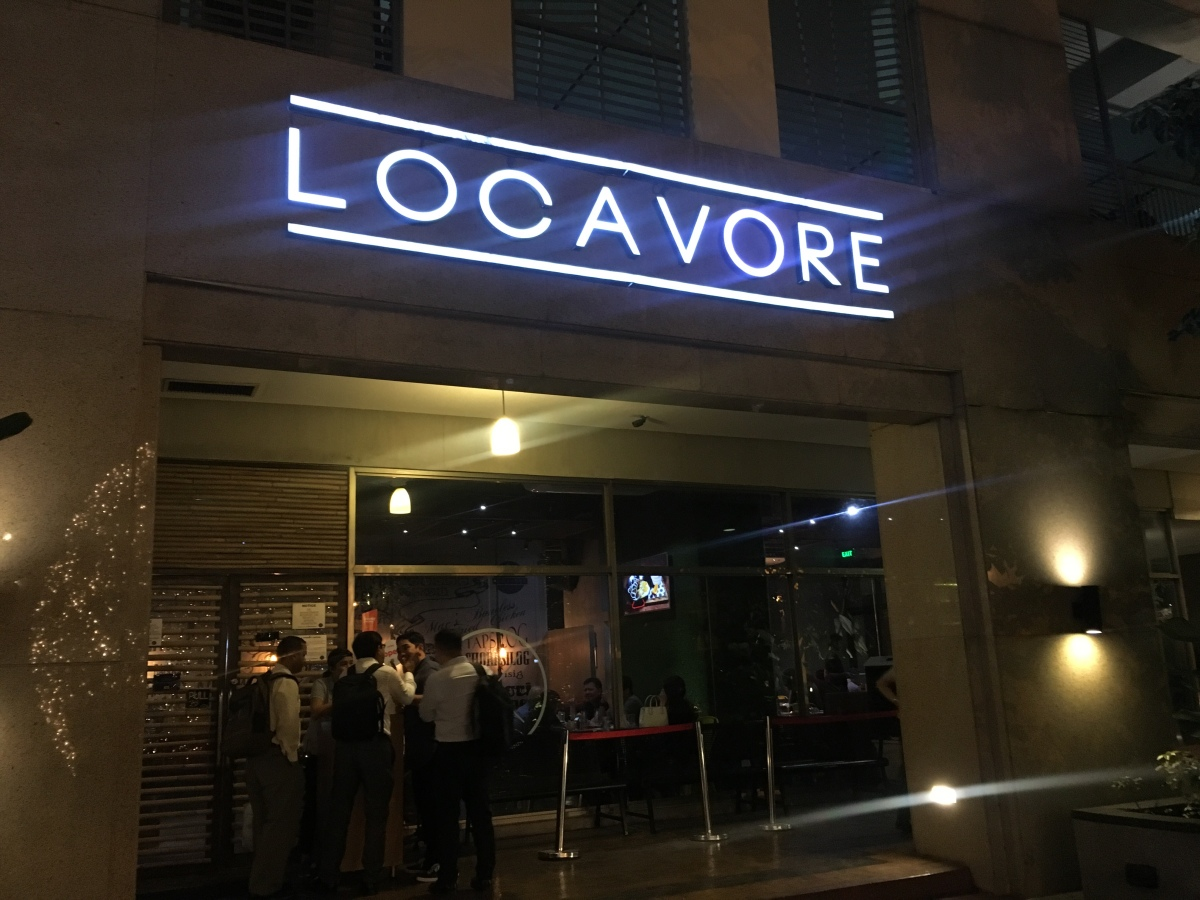 Not your ordinary Filipino food at Locavore,BGC