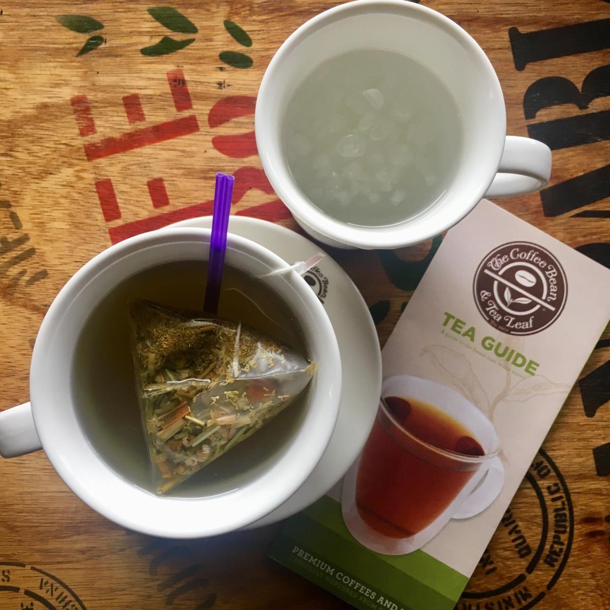 Tea break at The Coffee Bean & Tea Leaf, CrosswindsTagaytay