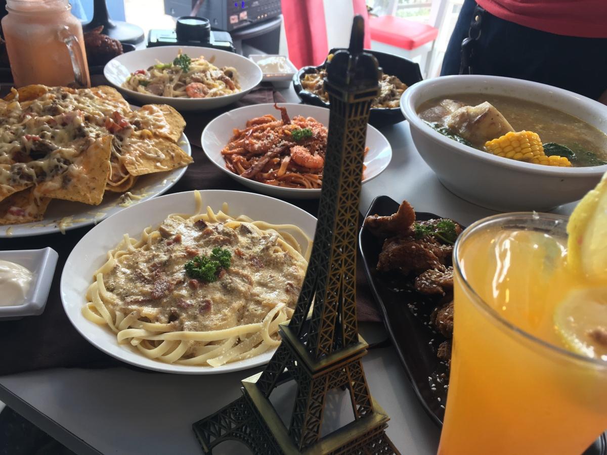 Take a gastronomic trip around the world at Passenger Seat,Marikina