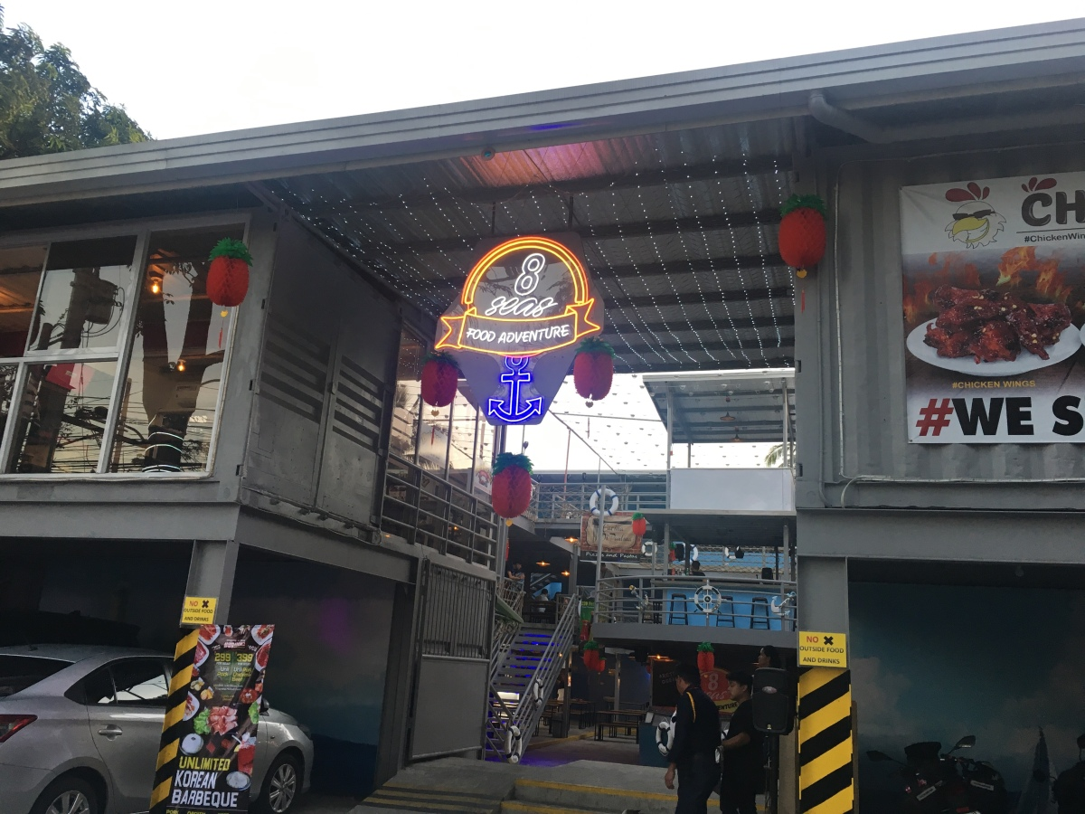 Must-tries at the 8 Seas Food Park Adventure in Timog,QC