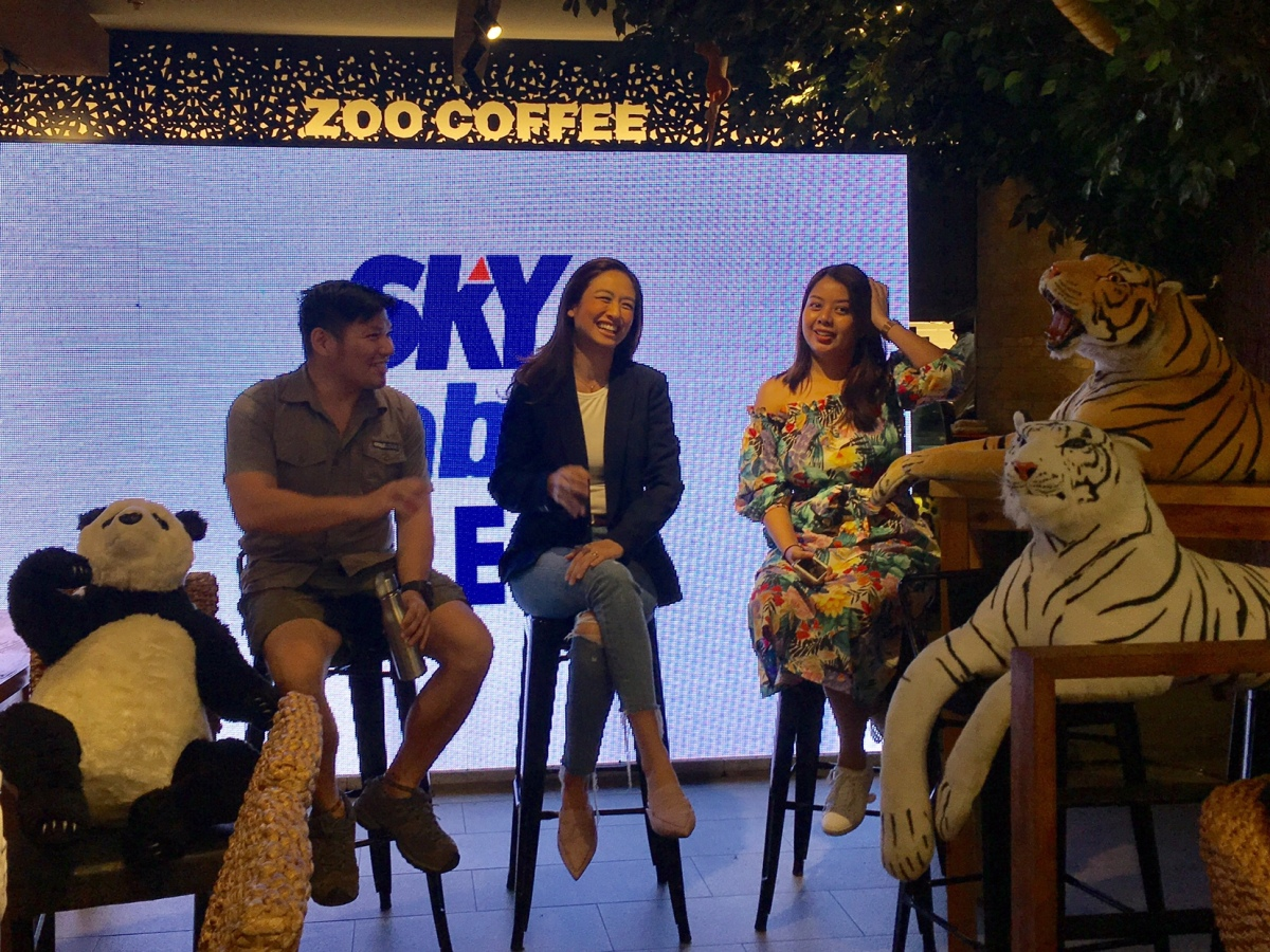 New SKYcable kids channel ZooMoo hosts panel on animal conservation