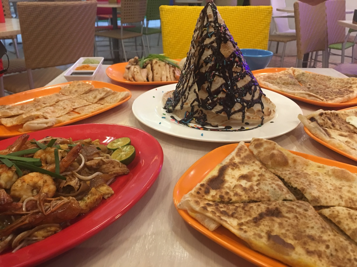 A taste of Singapore's hawker scene at Roti Shop,Rockwell