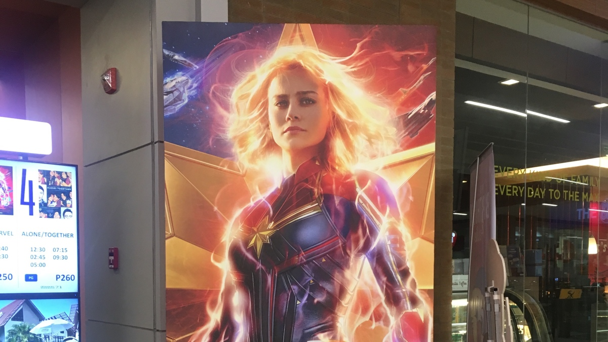 Four things I like about CaptainMarvel