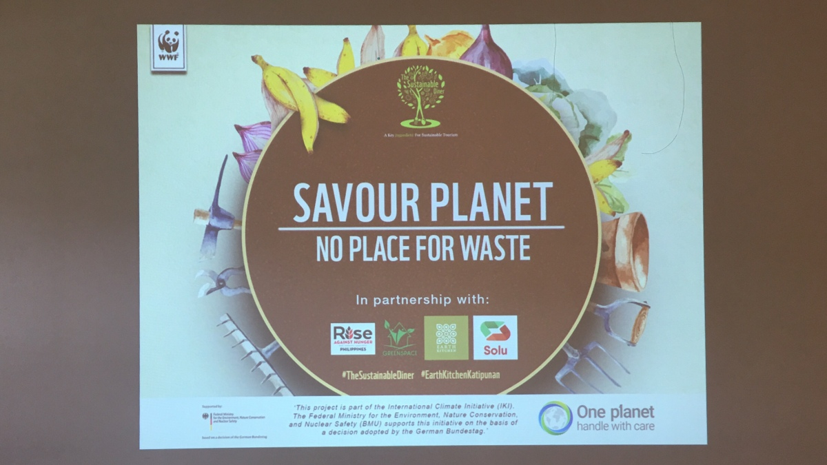 No place for food waste! WWF-Philippines kicks off Savour Planet 2019 with a newtheme