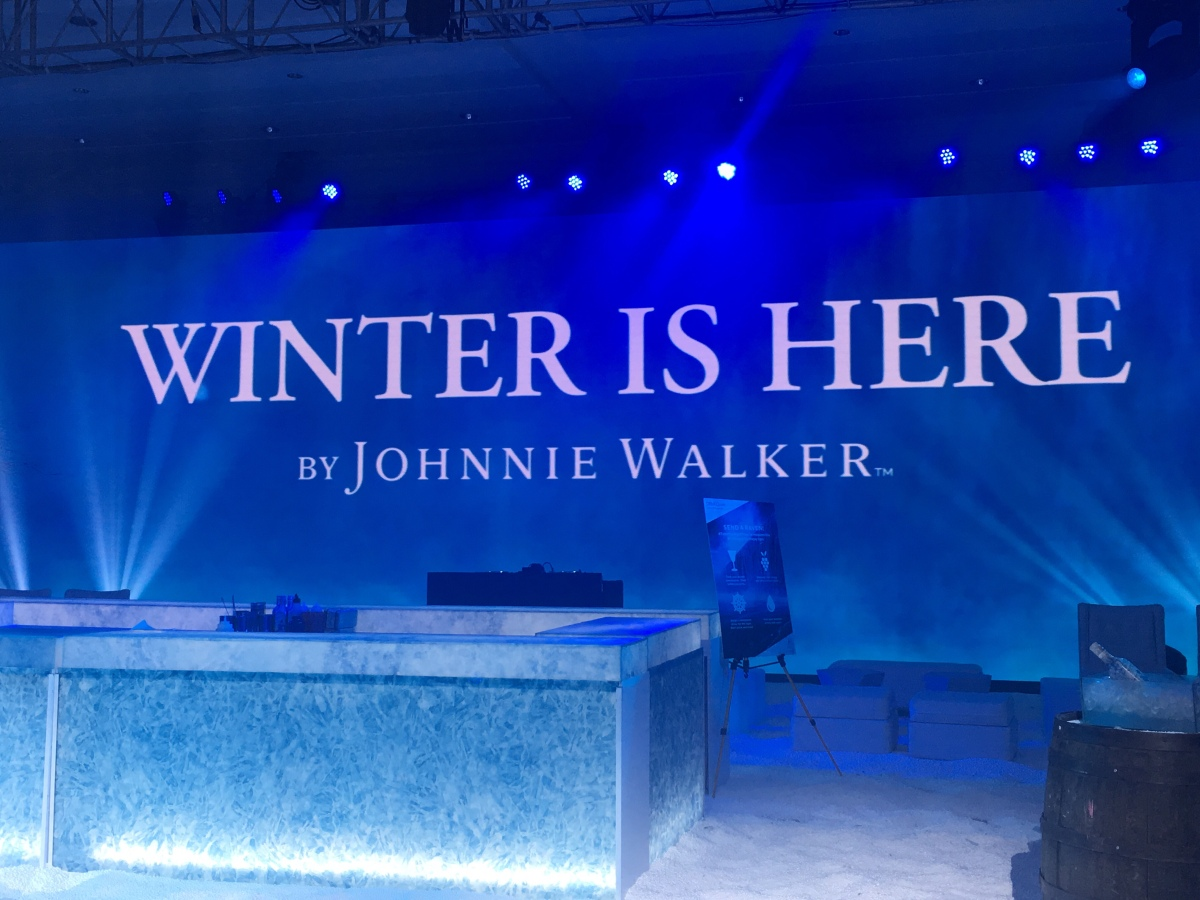 Winter is here with Johnnie Walker's limited-edition GOT-inspired label