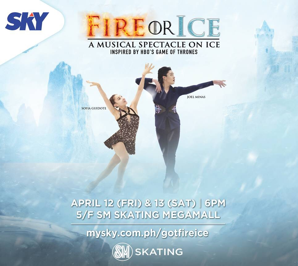 "SKY brings ""Fire or Ice: A Musical Spectacle"" at SM Megamall"