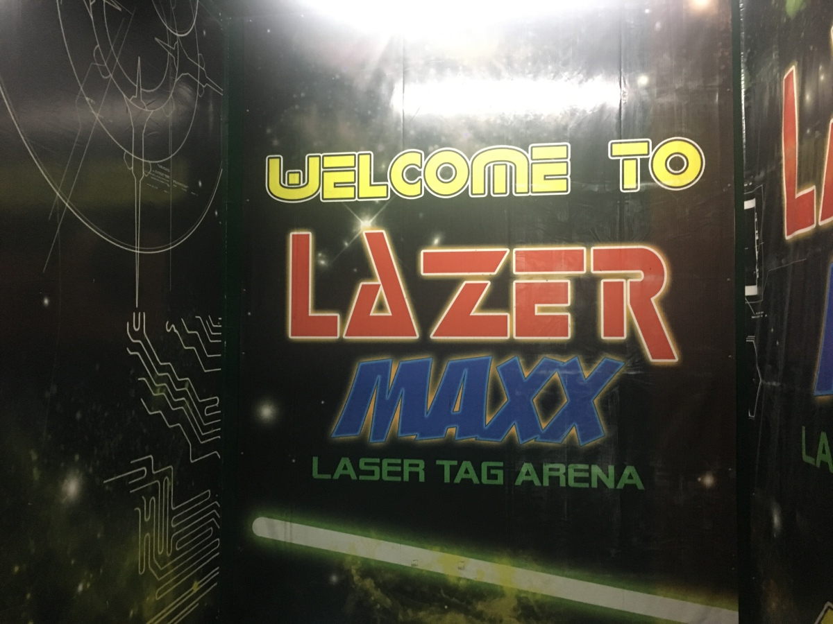 How to get your battle mode on at Lazer Maxx, Greenhills