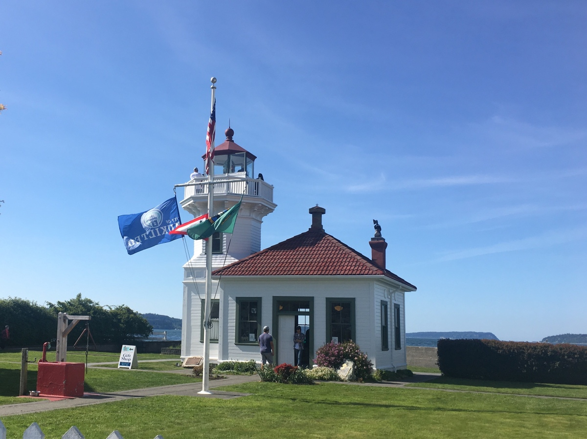 Sightseeing at the Mukilteo Lighthouse Park, Snohomish County, WA