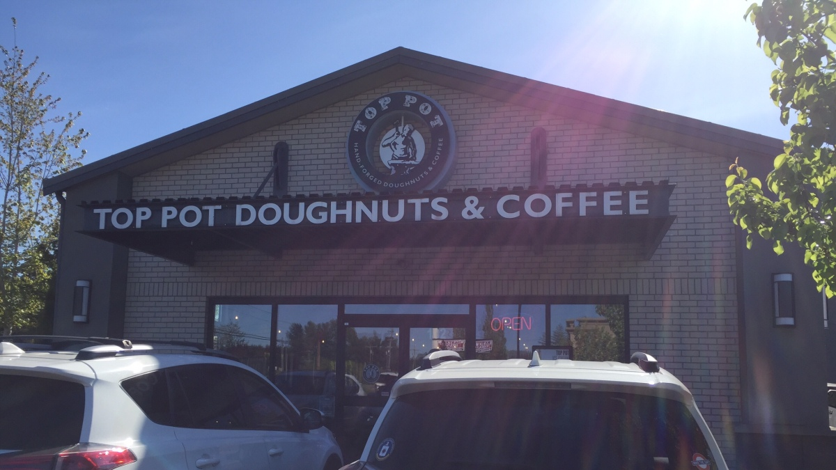 Morning Sweets from Top Pot Doughnuts, Bothell