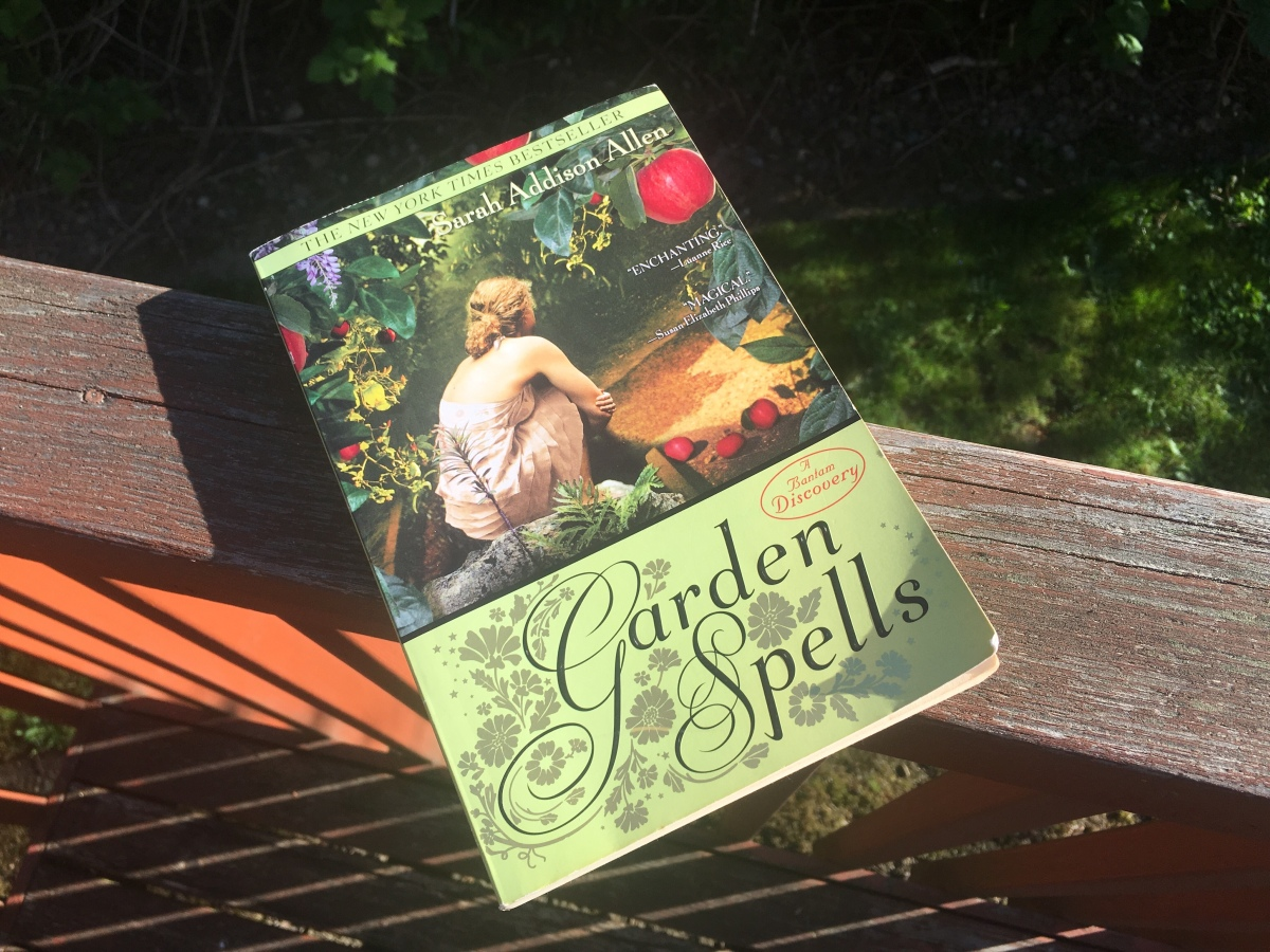 Garden Spells by Sarah Addison Allen: A rediscovery of sisterhood and magic