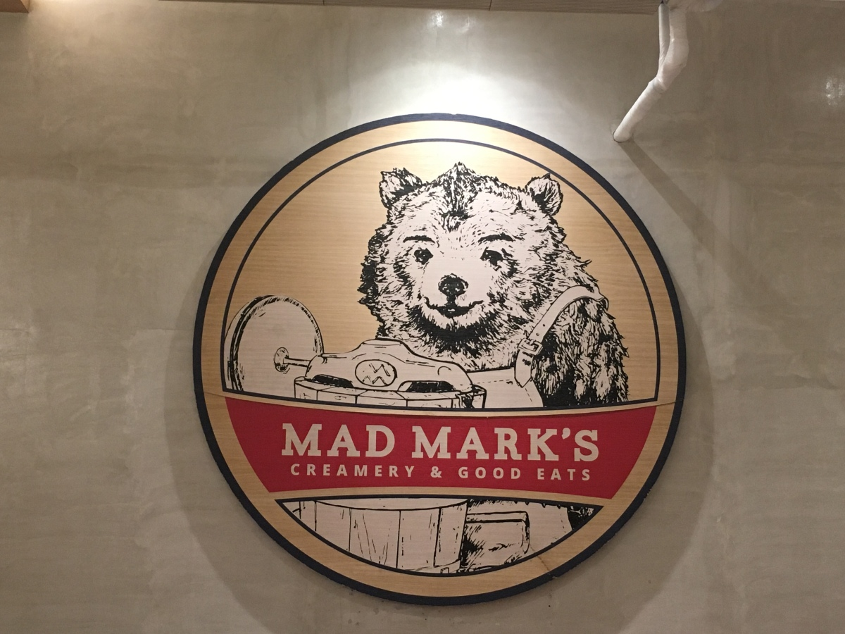 Steak lunch at Mad Mark's, Robinsons Galleria