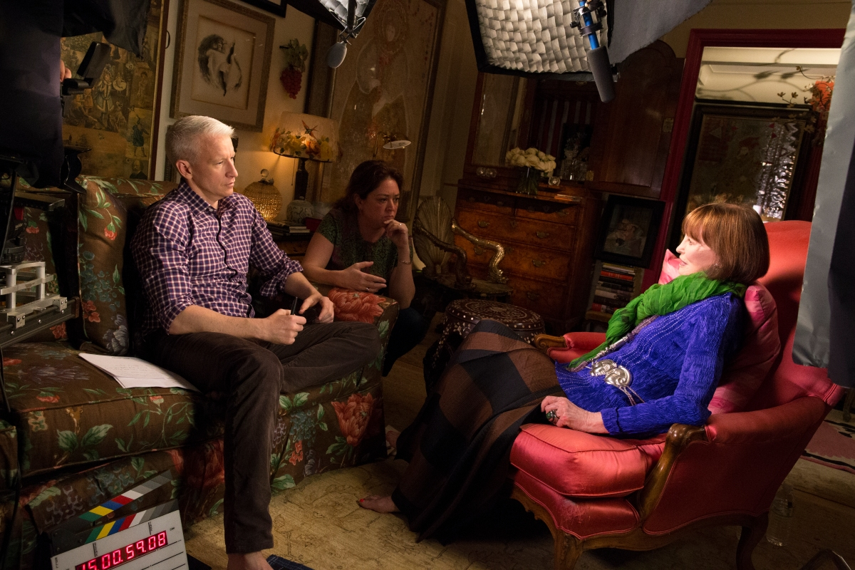 HBO remembers Gloria Vanderbilt with Encore Presentation of NOTHING LEFT UNSAID: GLORIA VANDERBILT & ANDERSON COOPER exclusively on HBO GO