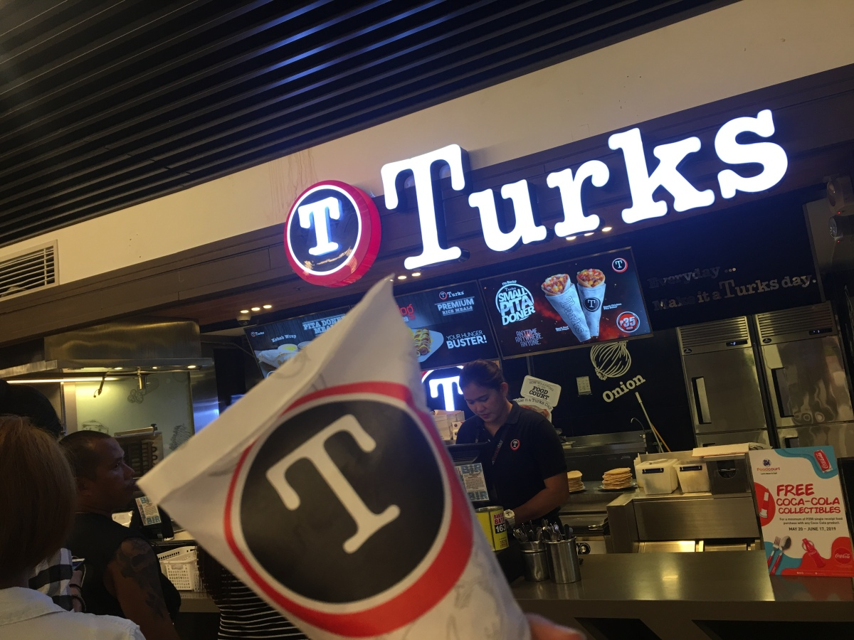 Quick snack time at Turks, SM North EDSA