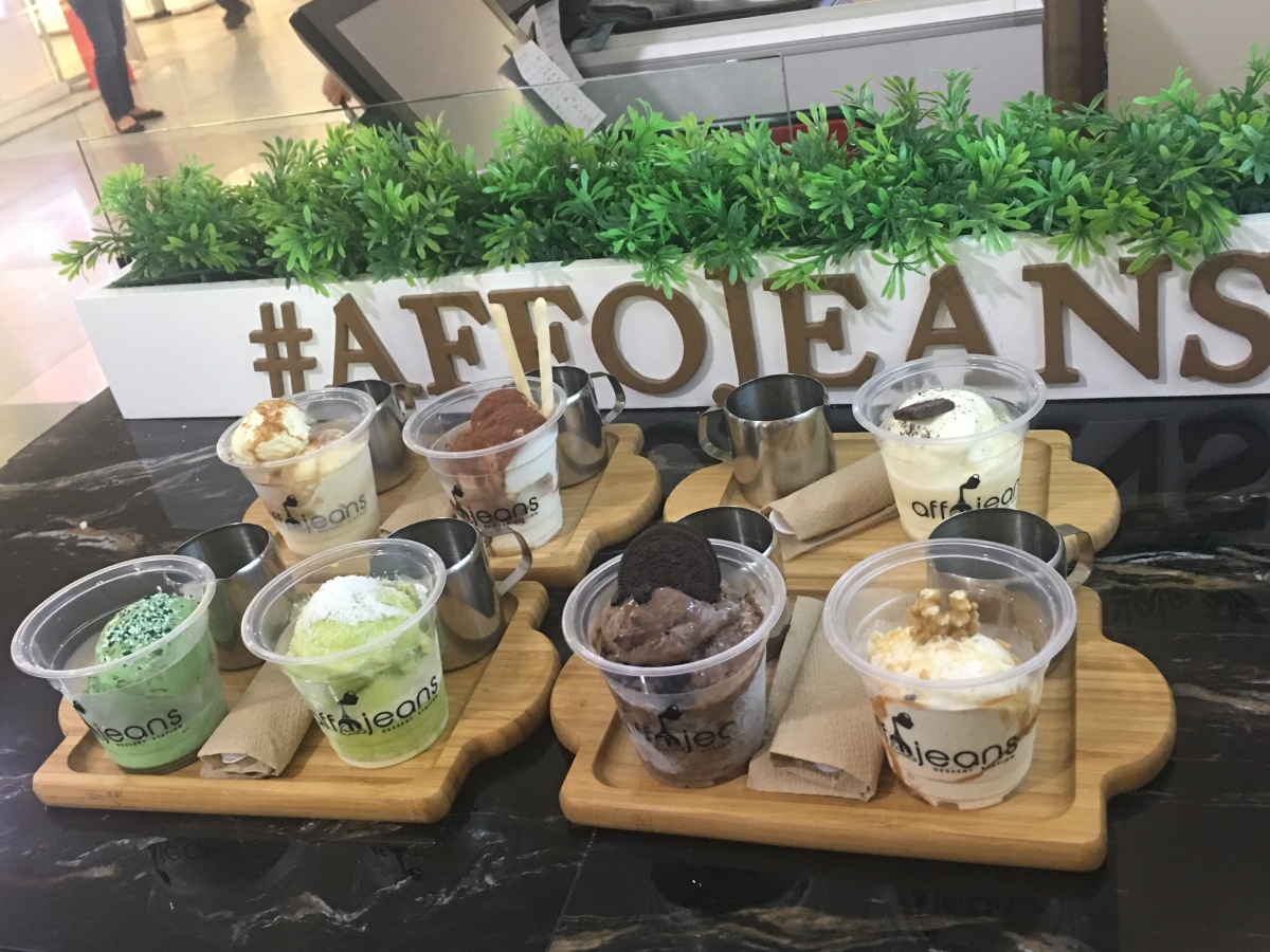 Manila's affogato is here at Affojeans, SM North EDSA