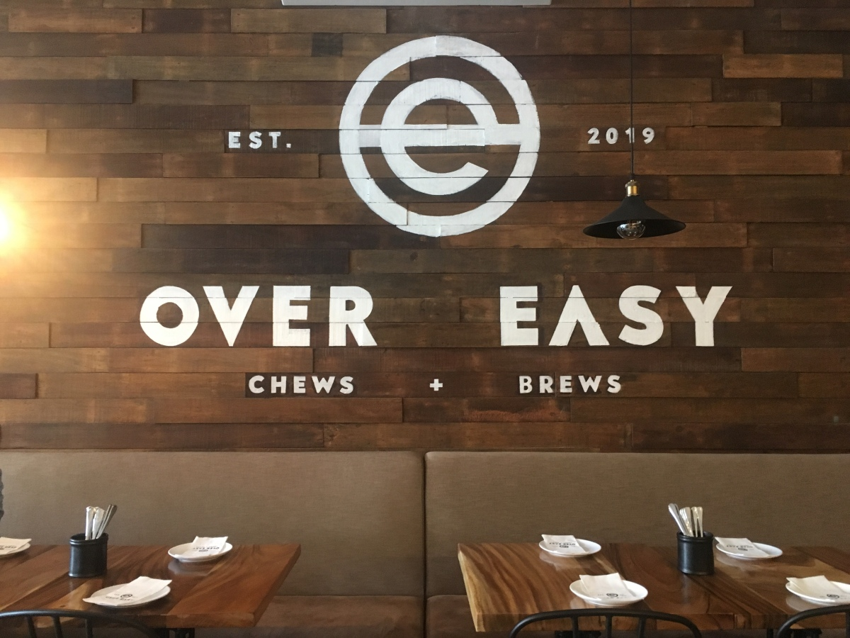 Happy fam brunch at Over Easy, Marikina