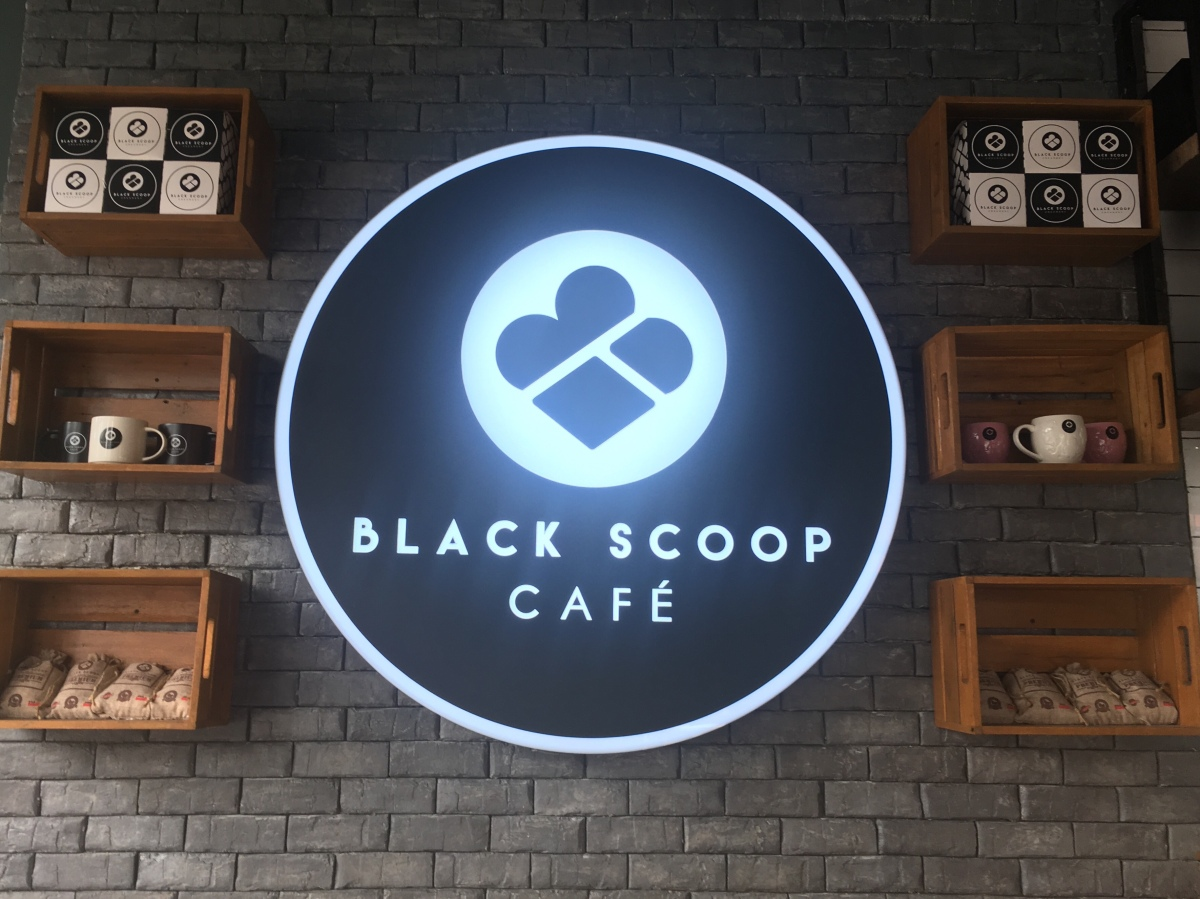 Dessert drinks from Black Scoop, Tomas Morato