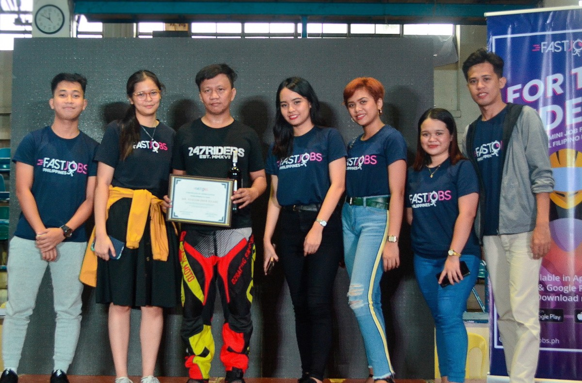 FastJobs hosts mini job fair and seminar for theriders