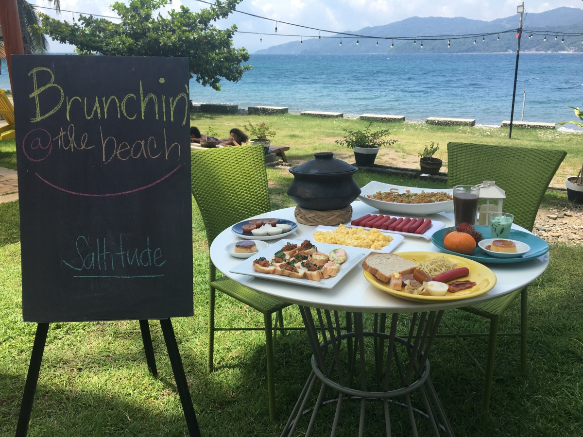Brunchin' at the Beach at Saltitude, Anilao