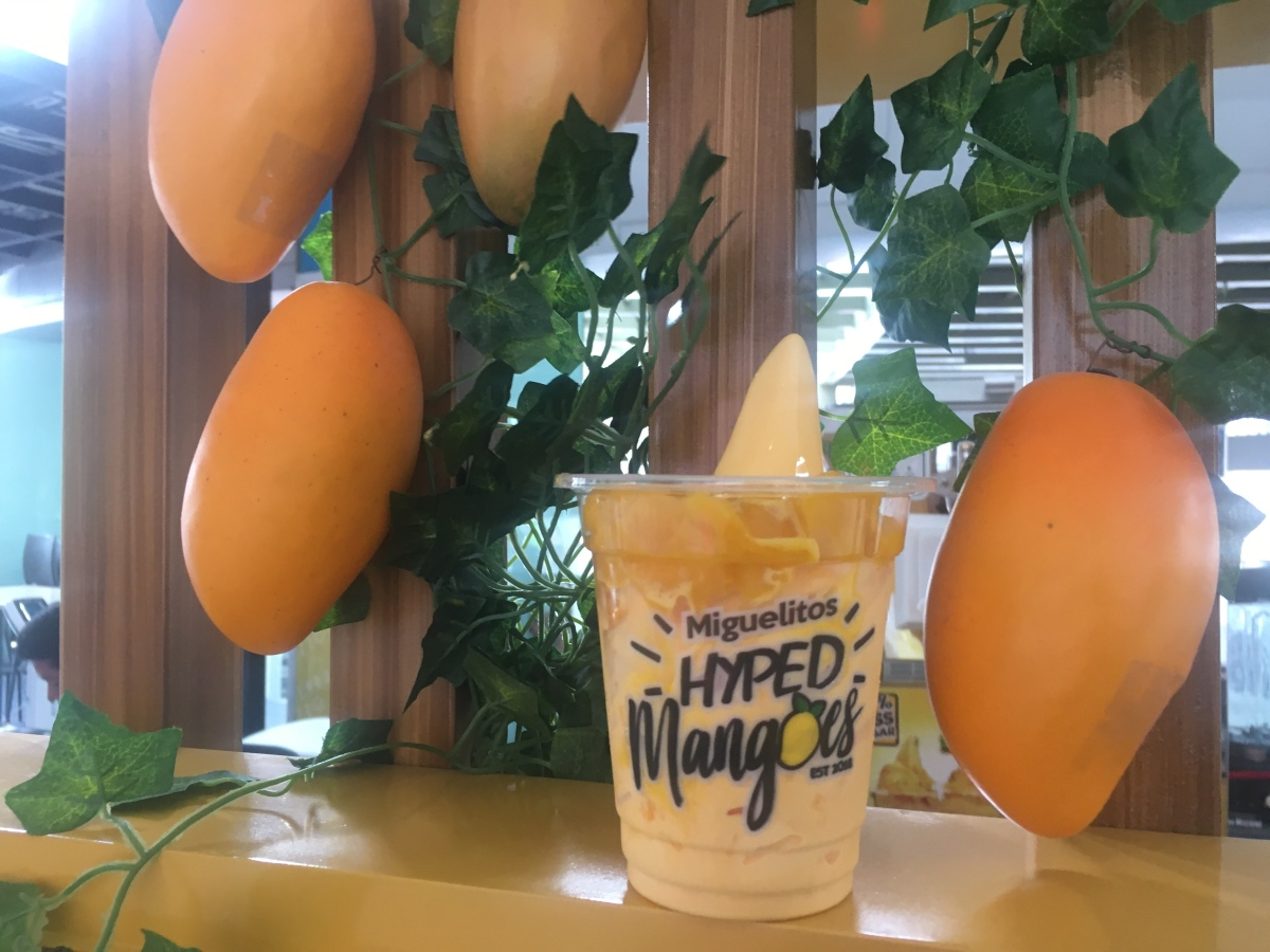 Sweet temptation at Miguelito's Hyped Mangoes, Tomas Morato