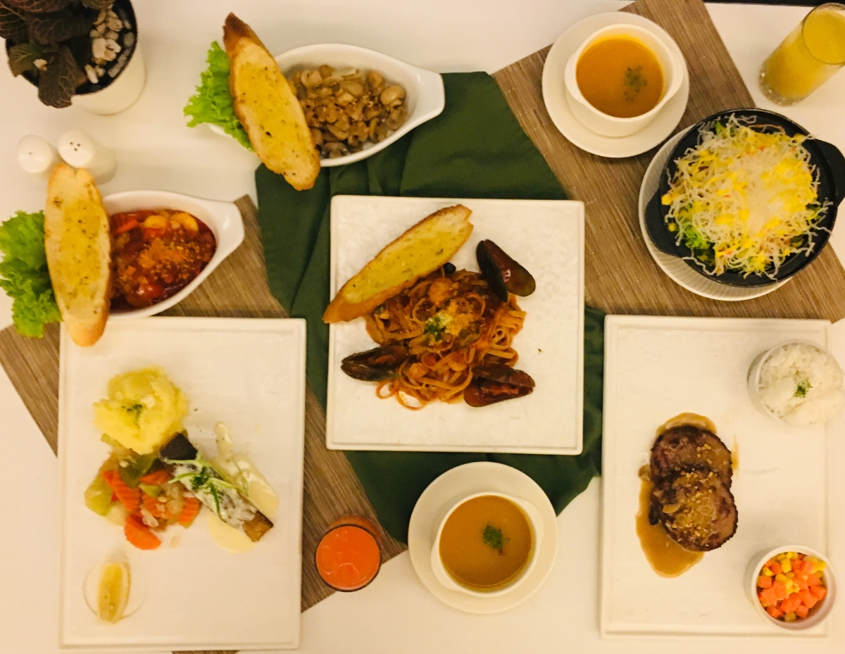 Luxe intercontinental dining at Cafe Romancon, Hotel Benilde