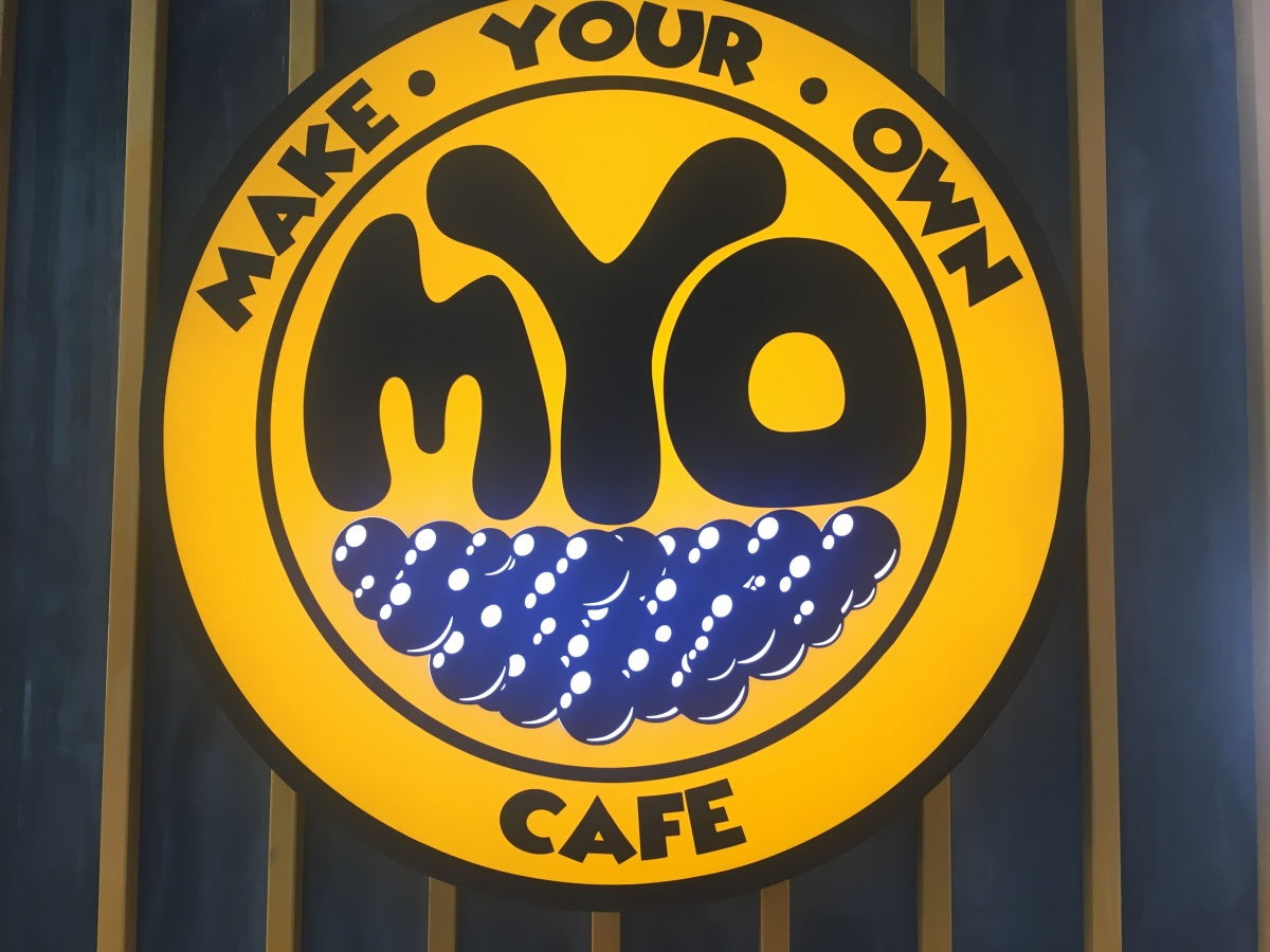 Milk tea adventure at Make Your Own Cafe, Tomas Morato